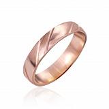 Серебряное кольцо Любовный тандем с позолотой