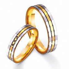 Золотое обручальное кольцо Любовь превыше всего