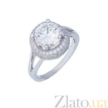Кольцо из серебра на помолвку Летиция AQA--XJT-0239-R1