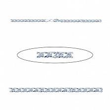 Серебряная цепочка Ромбо