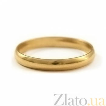 Золотое обручальное кольцо My Love 000030567