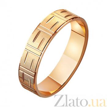 Золотое обручальное кольцо Леди-Х TRF--411066