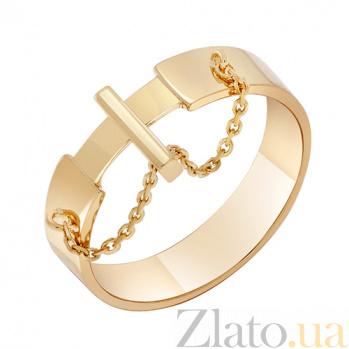 Кольцо Кинематика в красном золоте 000032651