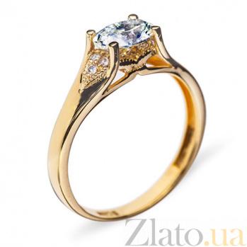 Золотое кольцо с бриллиантами Богиня R0620