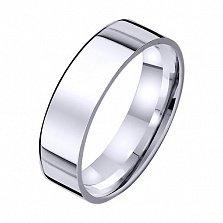 Золотое обручальное кольцо Постоянство любви