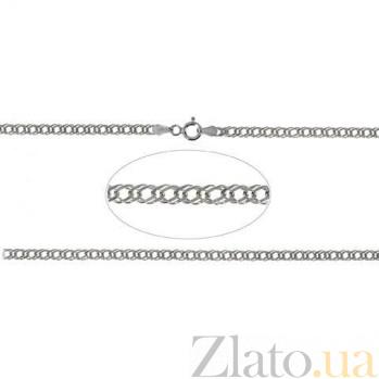 Цепочка серебряная Двойной Ромб AQA--811Р-3