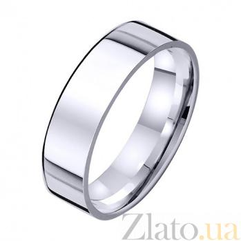 Золотое обручальное кольцо Постоянство любви TRF--421773