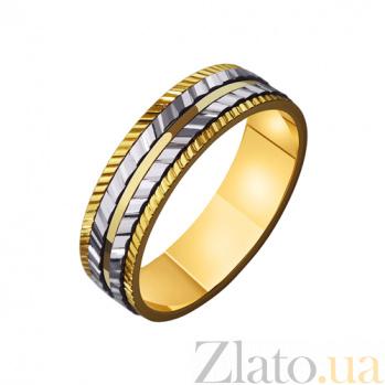 Золотое обручальное кольцо Мой нежный ангел TRF--4411447