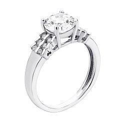 Серебряное кольцо с фианитами 000133761