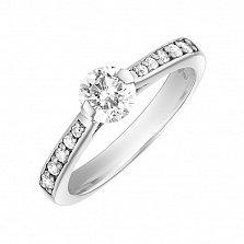 Золотое кольцо Альвина с бриллиантами