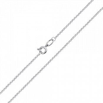 Золотий ланцюжок в білому кольорі, 1,5 мм 000022535