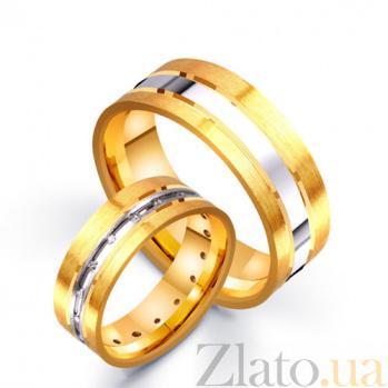 Золотое обручальное кольцо Линия судьбы TRF--4521117