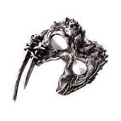 Каблучка зі срібла Hunter's mask з чорнінням 000091401