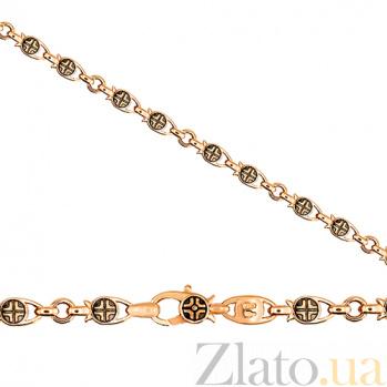 Браслет из красного золота Гамма-крест VLT--КБР502-18-2-3