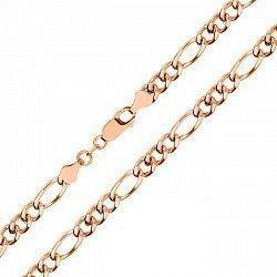 Серебряная цепочка с позолотой, 3,5 мм 000039420