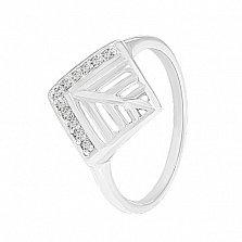 Серебряное кольцо Императрица