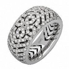 Кольцо из белого золота с бриллиантами Николетт