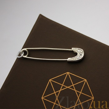 Серебряная булавка Талисман BGS--802