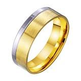 Золотое обручальное кольцо Только Ты и Я