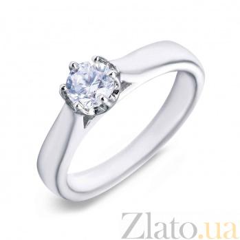 Кольцо на помолвку серебро AQA--SK-SA017-R