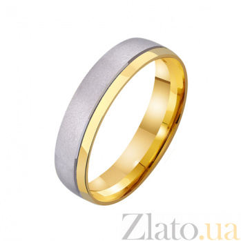 Золотое обручальное кольцо Венский вальс TRF--431237