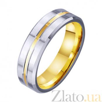 Золотое обручальное кольцо Шепот любви TRF--4511758