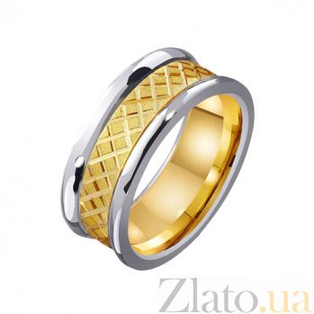 Золотое обручальное кольцо Необычный выбор TRF--4411477
