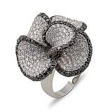 Кольцо Дивный сон из белого золота с бриллиантами