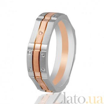 Золотое обручальное кольцо Артистизм 000001650