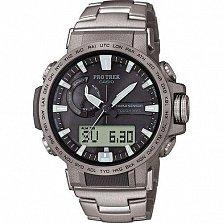 Часы наручные Casio Pro trek PRW-60T-7AER