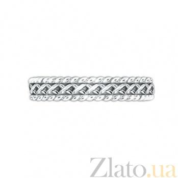 Золотое обручальное кольцо Центр вечных сил 000029735