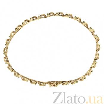 Браслет из красного золота с изумрудами Stream ZMX--BE-31675/585