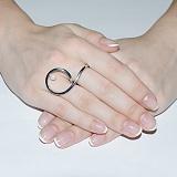 Серебряное кольцо Поворот судьбы