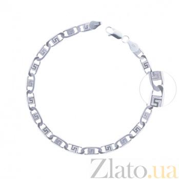 Серебряный браслет Греция 10020014
