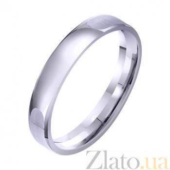 Золотое классическое обручальное кольцо Парение TRF--4211329