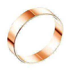 Обручальное кольцо из красного золота 000103702