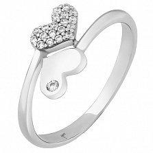 Серебряное кольцо Веста с фианитами