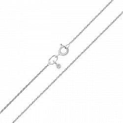 Серебряная цепочка якорного плетения 000117947