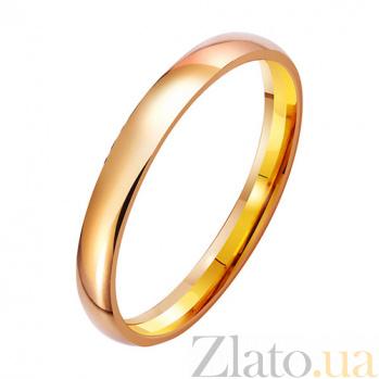 Золотое обручальное кольцо Mon amour TRF--411826