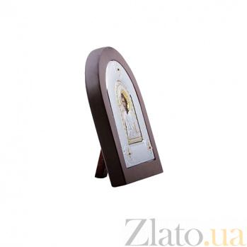 Икона из серебра с позолотой Иисус Христос в дереве AQA--MA/E2107AX