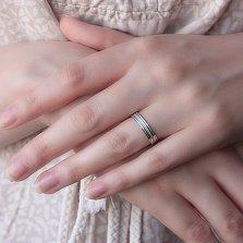 Золотое обручальное кольцо My Style