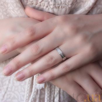 Золотое обручальное кольцо My Style TRF--4211508