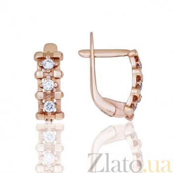 Золотые серьги Джолента EDM--С0351