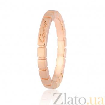 Серебряное кольцо с позолотой Стиль 000028384