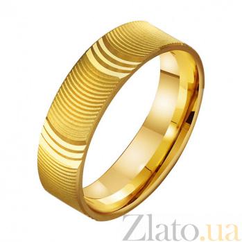 Золотое обручальное кольцо Блаженство любви TRF--431288