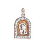 Серебряная ладанка Благочестие