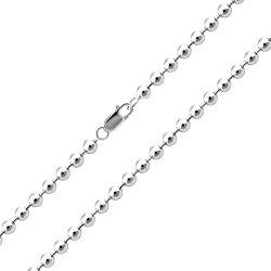 Серебряная цепь, 4,5 мм 000067405