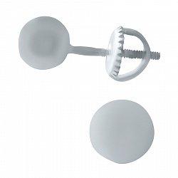 Серебряные серьги-пуссеты Шарики 000069001