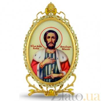 Серебряная икона Святого Благоверного князя Александра Невского 2.78.0321