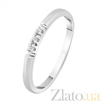 Помолвочное кольцо с бриллиантами Джульетта KBL--К1916/бел/брил